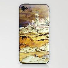 Brenton's Lighthouse Ipod Cover by Ave Hurley of ArtRave.com now only $15 at Society6