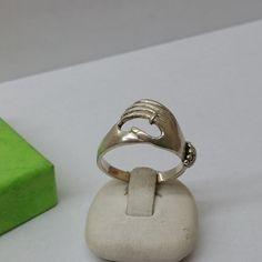 Vintage Ringe - Ring Silber 925 Hand selten rar Vintage 18,5 SR587 - ein Designerstück von Atelier-Regina bei DaWanda