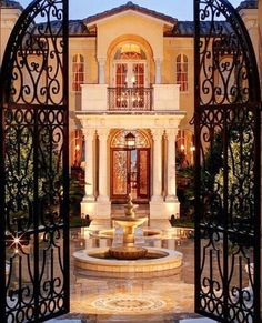 Mediterranean homes – Mediterranean Home Decor Mediterranean Homes Exterior, Mediterranean Home Decor, Exterior Homes, Mediterranean Architecture, Big Mansions, Marble House, Dream Mansion, Decoration Bedroom, Luxury Homes Dream Houses