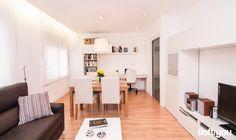 #proyectoserraiarola #iloftyou #interiordesign #ikea #barcelona #lowcost #livingroom #diningroom #bjursta #jara #henriksdal #besta #micke #lack #enje