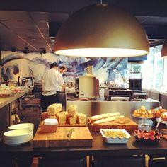 Restaurant Blue Spoon at Hotel Andaz #Amsterdam; Marjan Ippel @Marjan Ippel
