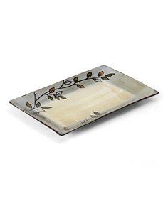 Look at this #zulilyfind! Rustic Leaves Branch 14'' Rectangular Platter #zulilyfinds, $20 !!