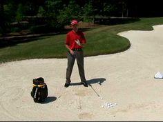 Golf Tip: Golfs' Ultimate Bunker Tip [ ArtOfGolf.com ] #sport #art #golf