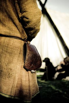 "That's a really nice belt pouch. (""Viking"" by Henrik Emtkjær Hansen)"