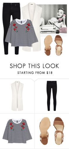 """Easy Peasy"" by dvorska-michaela on Polyvore featuring WearAll, 7 For All Mankind, Nine West, neutral, women and ordinarybutgood"