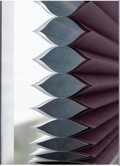 Pleated Blinds for window (in gray or white)
