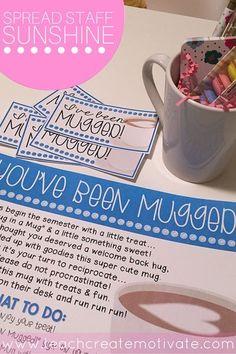 You've Been Mugged! {School Sunshine!}