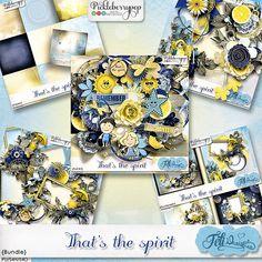 That's the Spirit Bundle (PU/S4H) by Feli Designs