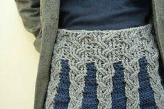 crocheted skirt: Etsy ElevenHandmade