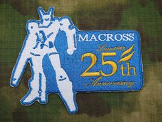 Aliexpress.com : Buy Robotech Macross 25th anniversary Badge Embroidered Velcro Patch B2539 from Reliable patch kit suppliers on Yu&Jia Patch Factory