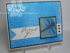 Nature's Dragonfly MKL by eliotstamps - Cards and Paper Crafts at Splitcoaststampers