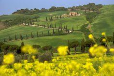 Valle de Orcia (Italia)