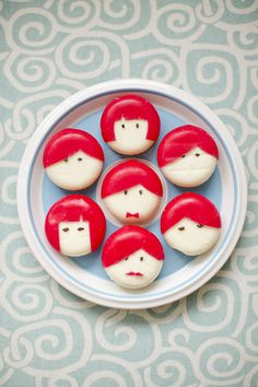 i can't believe i've never done this.  DIY-babybel-cheese-people