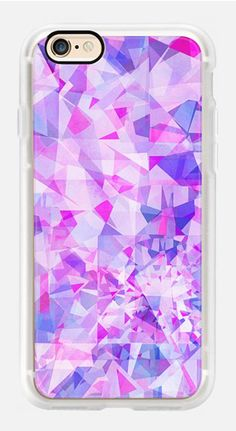 Casetify iPhone 7 Case and Other iPhone Covers - pink diamond pattern by Marta Olga Klara | #Casetify