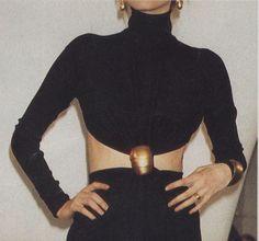 // Donna Karan FW 1989