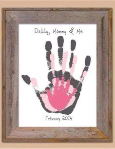 40 Sweet and Fun DIY Nursery Decor Design Ideas Cute homemade baby room decor. I'll do it with grey and yellow shades :] Kids Crafts, Family Crafts, Baby Crafts, Diy And Crafts, Family Art Projects, Santa Crafts, House Projects, Diy Projects, Family Hand Prints