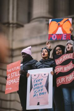 Feminist Quotes, Feminist Art, Protest Signs, Power To The People, Intersectional Feminism, After Life, Pro Choice, Equal Rights, Patriarchy
