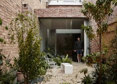 Rose Street by Eastop Architects Australian Architecture, Interior Architecture, Communal Kitchen, Kitchen Island Bench, Rose Street, Terrazzo Flooring, Compact Living, Exposed Brick, Contemporary Interior
