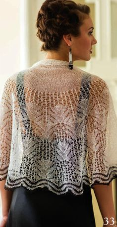"This is an exciting pattern for summer. I'm not up to nearly this level yet, but I'm learning to knit lace and this is very inspiring. ""*⊱༺๑๑༻⊰*"""