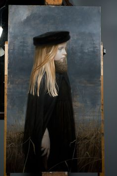 Kate Stone by Thistles and Thorns II. Beautiful painting.