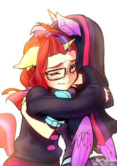 I love s5 e12 , I even CRIED at the end TwT. I always love stories with pent up depression but end up embracing each others at the end ;A; Moondancer is so adorable, ...
