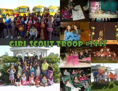 BLOG - We are a multi-level troop with Daisies, Brownies, Juniors and Cadettes. Their grades range from Kindergarten to 8th grade. We started our Troop in September of 2010.