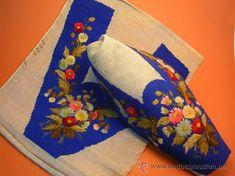 ANTIGUOS BORDADOS PARA ZAPATOS (Antigüedades - Moda - Complementos - Bordados)
