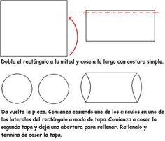 Idea Almohada. Manualidad en Tela | Decoración 2.0