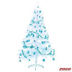 Für weiße Weihnachten! Aus Kunststoff mit Metallständer, ca. 180 cm hoch, Verkauf ohne Dekoration #weihnachten