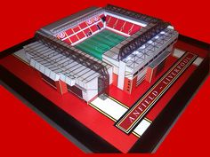 Anfield 3D Stadium Model Liverpool FC. Comprising of Plastic & Acrylic Parts this model also has fully working floodlights! Available from Sports Stadia Art ebay store..http://stores.ebay.co.uk/Sports-Stadia-Art/3D-Stadium-Models-/_i.html?_fsub=7420549015&_sid=1159895225&_trksid=p4634.c0.m322