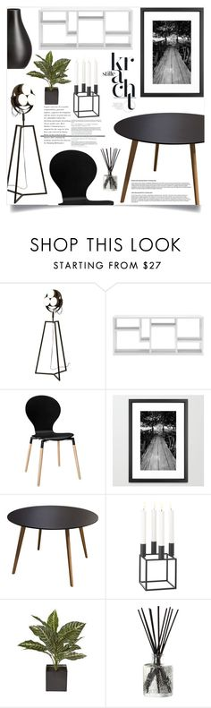 """""""Dining Room"""" by by-jwp ❤ liked on Polyvore featuring interior, interiors, interior design, home, home decor, interior decorating, CB2, Dot & Bo, Diamond Sofa and By Lassen"""