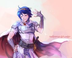 I'm saving to Game Art because it's one of his Smash alts, not from the FE game itself. Fire Emblem Marth, Fire Emblem Games, Fire Emblem Awakening, Super Smash Bros Melee, Shadow Dragon, Fire Emblem Characters, Blue Lion, Art Memes, Anime