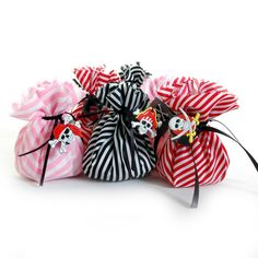 Pirates Pre Filled fabric party bag Chocolate Treasure Party Bag | Party Parade