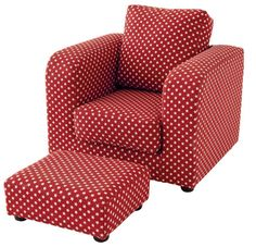 Alternatively What About This Fun Armchair With A Matching Foot Stool From Gltc Children S