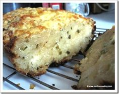 Angry Orchard Cheddar & Chive Hard Cider Bread #recipe