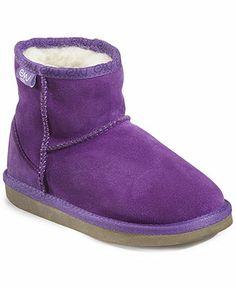 EMU Wool Kids Shoes, Girls or Little Girls Bronte Mini 2 Booties