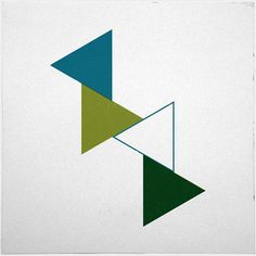#383 Flux – A new minimal geometric composition each day
