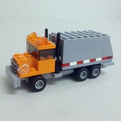 Hey, I found this really awesome Etsy listing at http://www.etsy.com/listing/102672788/garbage-truck-custom-lego-kit-series