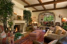 Ultra-charming French country home in Montecito, California