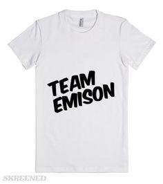 Team Emison #Skreened #prettylittleliars #alisondilaurentis #emilyfields #emison