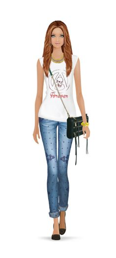 Fashion Game Fashion Games, Capri Pants, Style, Fashion Styles, Trendy Outfits, Sporty, Swag, Capri Trousers, Outfits
