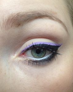 #mua #makeupartist #makeup #makeupart #nyx #bourjois #douglas #esteelauder #skin79 #isadora #physiciansformula #sensai #clinique #daymakeup #eyeliner #nyxvividbrights #purple #violet #naturalmakeup