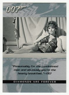 James Bond - The Quotable # 91 - Diamonds Are Forever