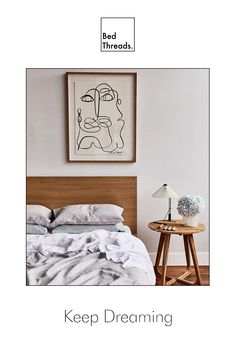Your bedroom is a space you spend lots of time in: creating, dreaming, sleeping. It's worth it to build a bedroom you love, and it doesn't have to be difficult. Decorate your room with quality linen bedding, art, and homewares with Bed Threads.