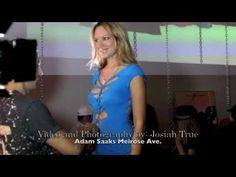 Adam Saaks Cuts True Blood star Natasha Alam at the Adam Saaks Melrose Grand Opening. 10/10/10