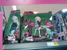 Monster High knock-off dolls