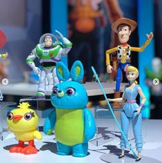 Mattel Toy Story 4 Action Figures by LOLDisney on DeviantArt - Movie Collection Toy Story 4 Cast, Toy Story 3 Movie, Toy Story 1995, 2 Movie, Bo Peep Toy Story, Jessie Toy Story, Transformers 4, Movie Collection, Designer Toys