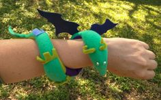 DragonSown Wearable Fabric Sculpture, Made to Order Custom Dragon cuff