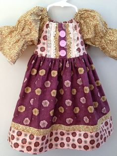 Size 3t.....Fall Dress......Made and ready to be by LevonaDanielle