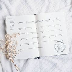 "299 Likes, 8 Comments - Kath Quiambao-Lau (@kathwrites) on Instagram: ""Keeping it simple. Hello, August! Can't wait for Fall. . . . . . #bulletjournal #bujo #journal…"""